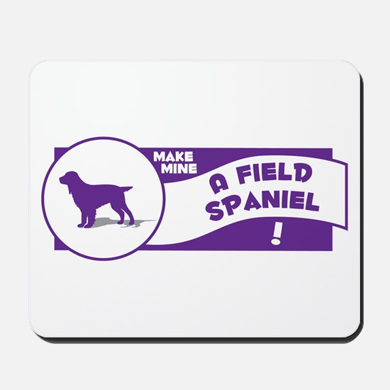 Make Mine Field Mousepad
