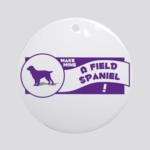 Make Mine Field Ornament (Round)