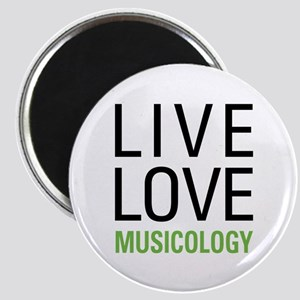 Live Love Musicology Magnet