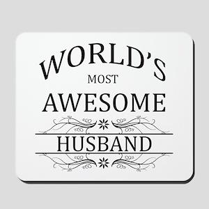 World's Most Amazing Husband Mousepad