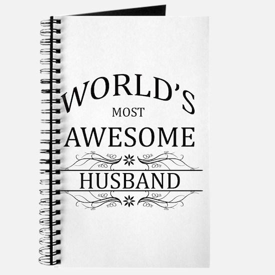 World's Most Amazing Husband Journal