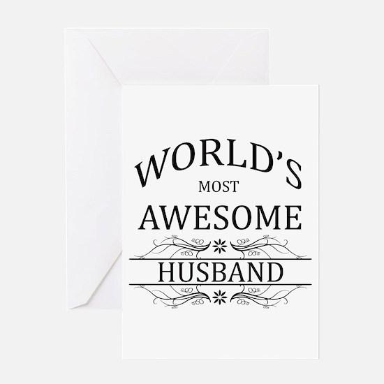 World's Most Amazing Husband Greeting Card