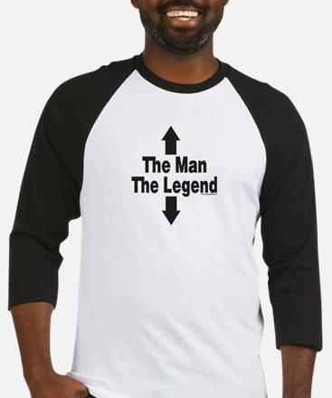 The Man The Legend Baseball Jersey