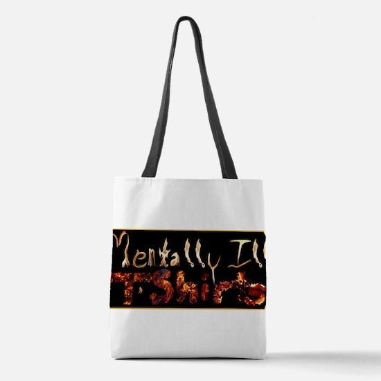 Cute Autism awareness Polyester Tote Bag