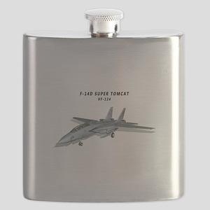 F-14D Super Tomcat VF-124 Flask