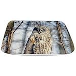 Great Gray Owl Bathmat