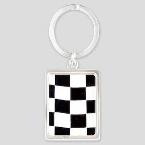 Checkered Flag Keychains