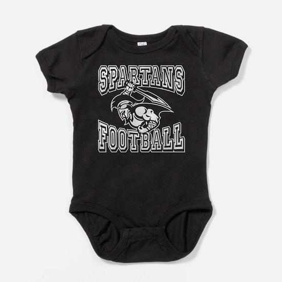 Spartans Football Baby Bodysuit
