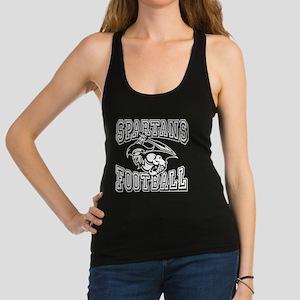 Spartans Football Racerback Tank Top