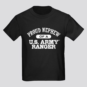 Army Ranger Nephew Kids Dark T-Shirt