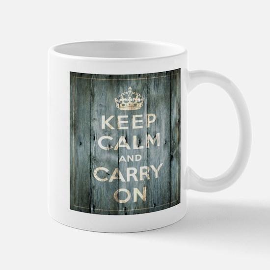 modern keep calm and carry on fashion Mugs