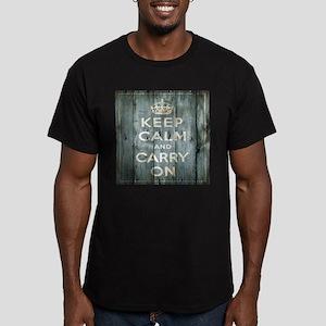 modern keep calm and carry on fashion T-Shirt