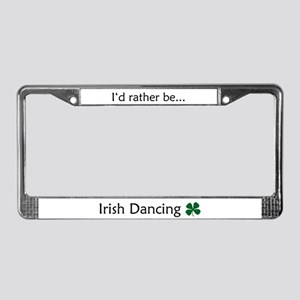 Irish Dance License Plate Frame