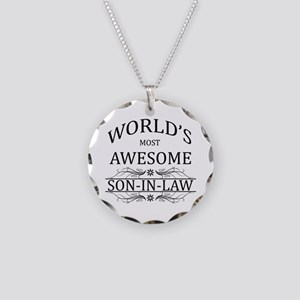 World's Most Amazing Son-In- Necklace Circle Charm