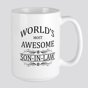 World's Most Amazing Son-In-Law Large Mug