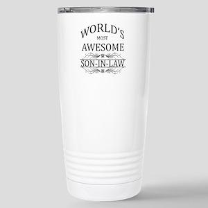 World's Most Amazing So Stainless Steel Travel Mug