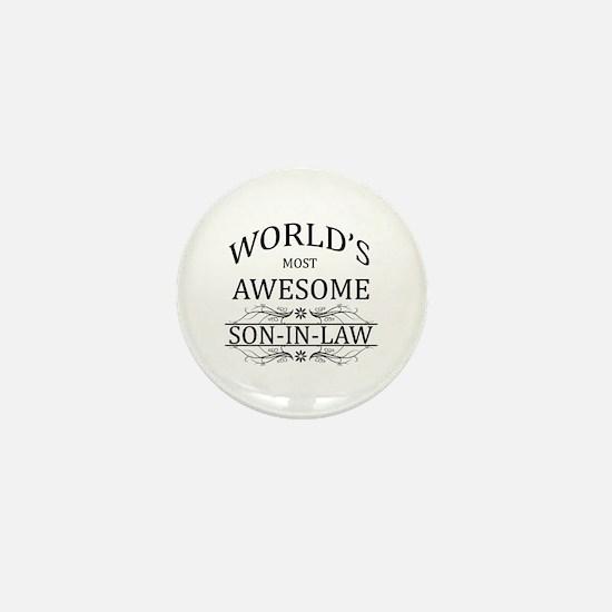 World's Most Amazing Son-In-Law Mini Button