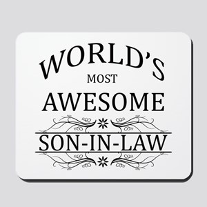 World's Most Amazing Son-In-Law Mousepad