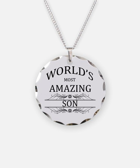 World's Most Amazing Son Necklace