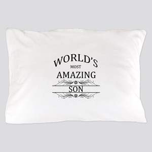 World's Most Amazing Son Pillow Case