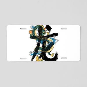 dragon5 Aluminum License Plate