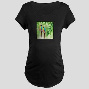 Macaws Maternity T-Shirt