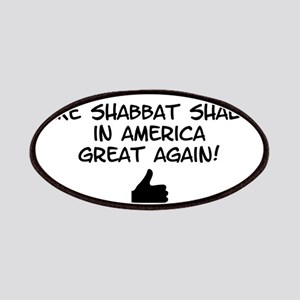 Make Shabbat Shalom in America Great Again! Patch