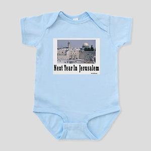 Next Year In Jerusalem Infant Bodysuit