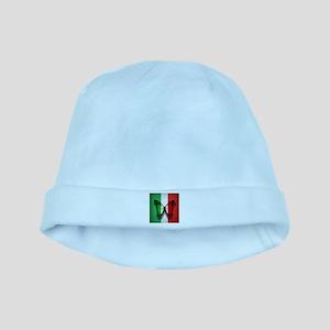 Italian Flag Butterfly baby hat