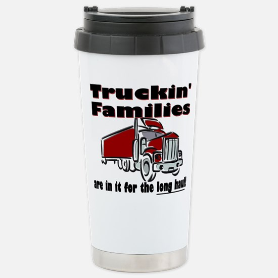 Truckin' Families Stainless Steel Travel Mug
