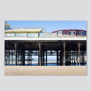 Blackpool central pier Postcards (Package of 8)