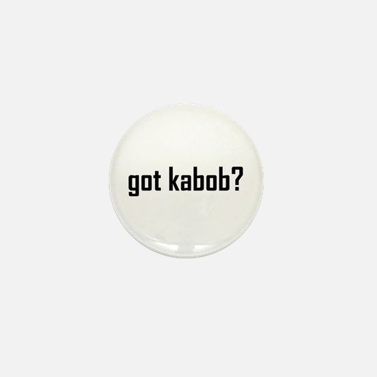 Got Kabob? Mini Button