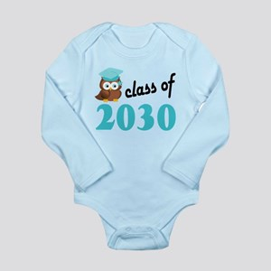 Class of 2030 (Owl) Long Sleeve Infant Bodysuit