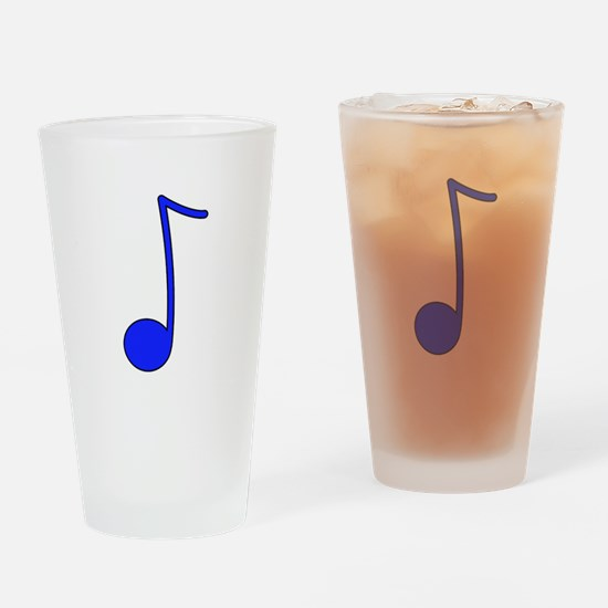 Blue Note Drinking Glass