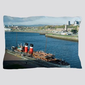 Waverley Paddle Steamer Pillow Case