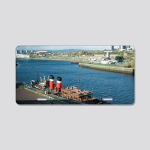 Waverley Paddle Steamer Aluminum License Plate