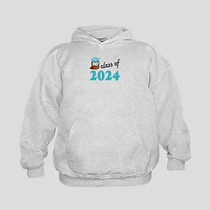 Class of 2024 (Owl) Kids Hoodie