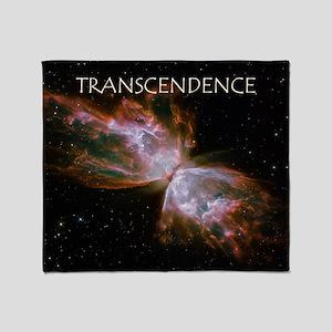 Transcendence Nebula Sean Christopher Throw Blanke