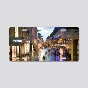 Sauchiehall Street in Glasg Aluminum License Plate