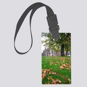 St Andrews Cathedral in Glasgow Large Luggage Tag