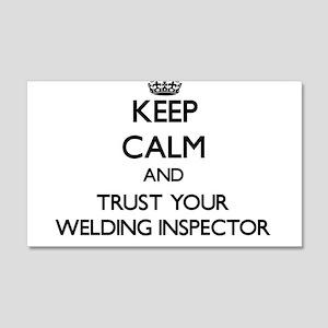 Keep Calm and Trust Your Welding Inspector Wall De