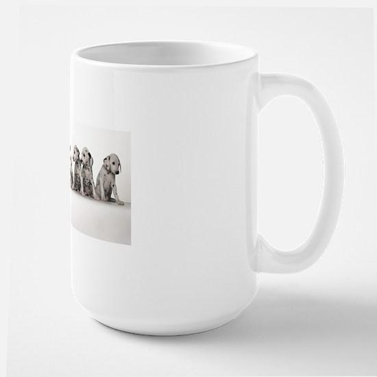 THE SPOTTED LINE UP Large Mug