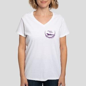 Pilates Plank Purple T-Shirt
