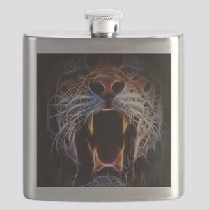 Electrified Tiger Flask