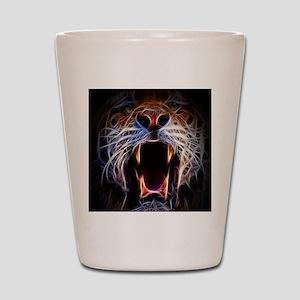Electrified Tiger Shot Glass