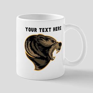 Custom Grizzly Bear Mugs