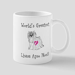 Worlds Greatest Lhasa Apso Mom!!! Mugs
