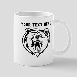 Custom Angry Bear Mugs