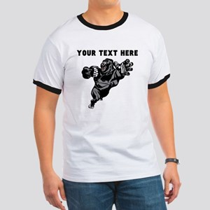 Custom Gorilla Mascot T-Shirt