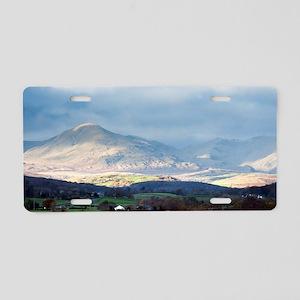Balwith Knott, Cumbria Aluminum License Plate